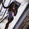 2018 Shining Swimsuit High Waist Swimsuits Cross Bandage Monkini Halter Bathing Suit Sequined Beach Bikini Diamonds