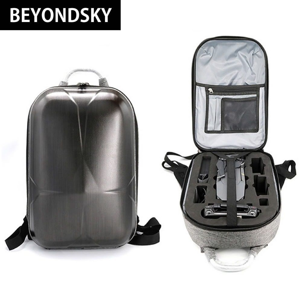 DJI Mavic Pro Backpack Carbon Fiber Black Carry Case Mini Hardshell Drone Backpacks DJI Quadrocopter Waterproof Advanced Storage carrying case for dji mavic pro accessories abs waterproof weatherproof hard military spec bags for dji mavic pro drone bag