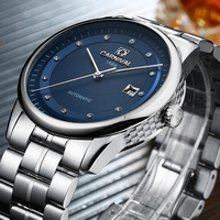 New Carnival Mens Watches Top Brand Luxury Diver 200M Super Luminous Sapphire Glass Automatic Mechanical Watch