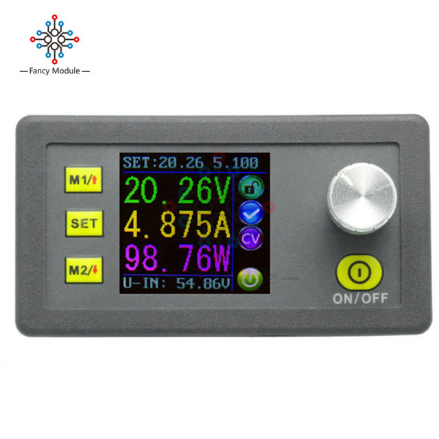 DP50V5A 50V 5A Constant Voltage current Step-down Programmable Power Supply module buck Voltage converter color LCD voltmeter