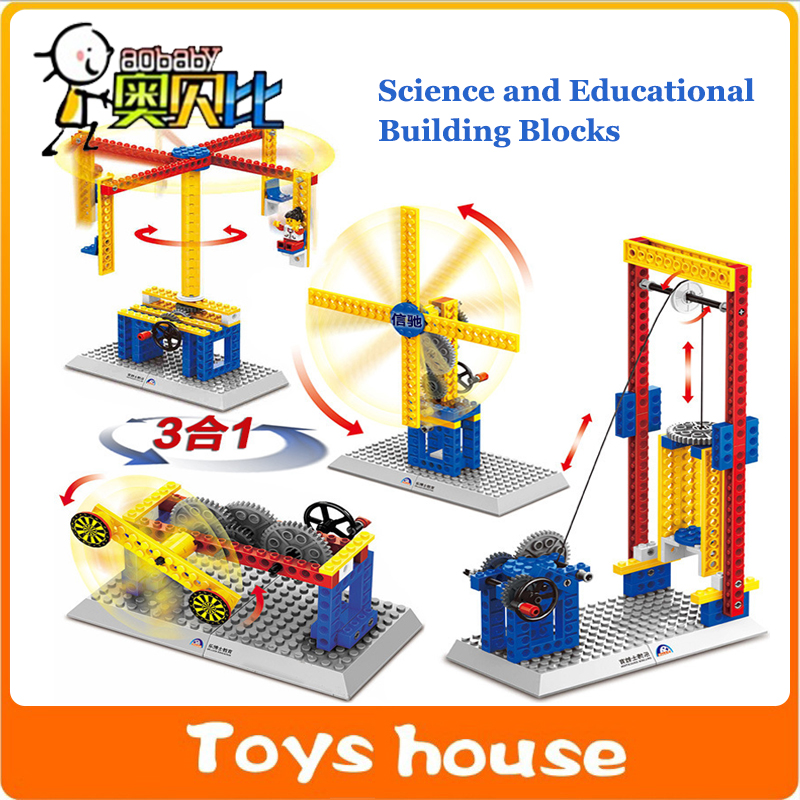 Toys For Teachers : Aliexpress buy mechanical building blocks children s