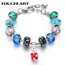 Toucheart Новый дизайн красочные очаровательные браслеты со