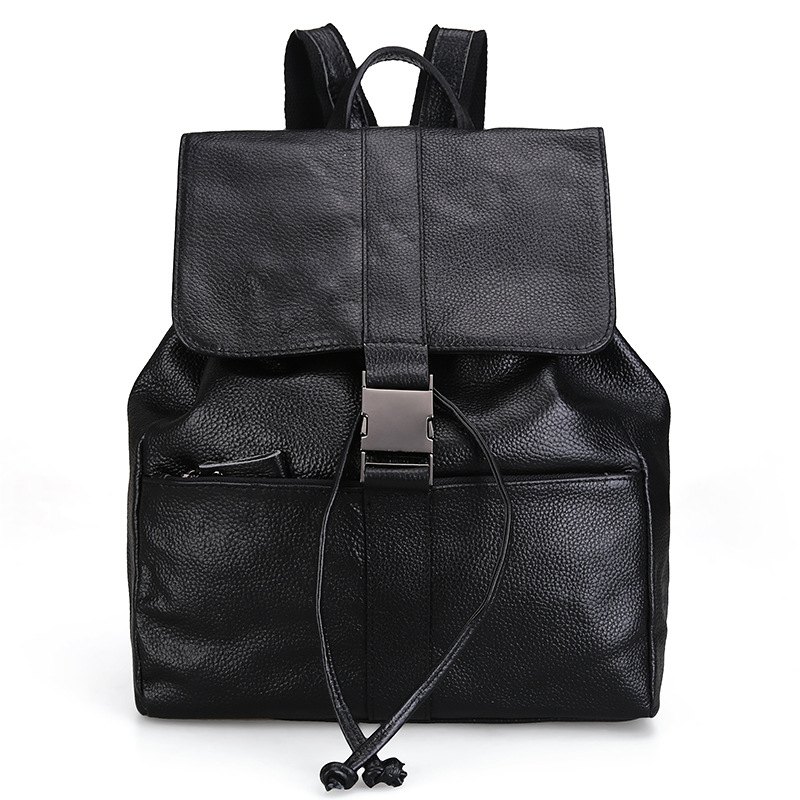 The new Korean version of the first layer of women s leather shoulder bag women s