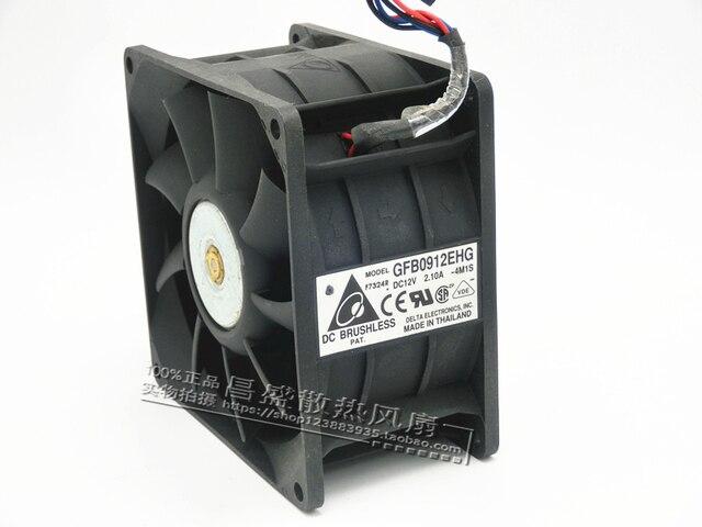 Original 9 CM double ventilateur de refroidissement 9250 12 V 2.1A GFB0912EHG qualité Assurance refroidisseur de processeur radiateur axial ventilateur de refroidissement