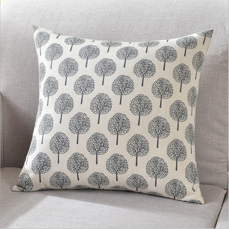 18 39 39 Tow Sides Fashion Pillow Cover Print Pillow Case Home Decorative Throw Pillowcase Living Room Cafe Home Textile Pillow Cover in Cushion Cover from Home amp Garden
