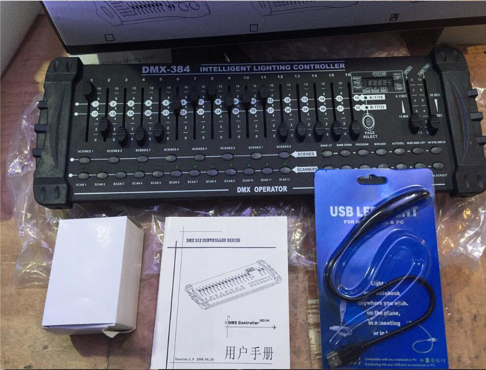 384 DMX controller, for stage lighting 512 dmx console DJ controller equipment Stage lights controller dmx 512 controller 192 dmx controller for stage lighting 512 dmx console dj controller equipment
