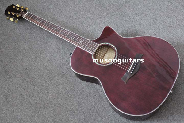 musoo brand acoustic guitar spruce top with eq in guitar from sports entertainment on. Black Bedroom Furniture Sets. Home Design Ideas