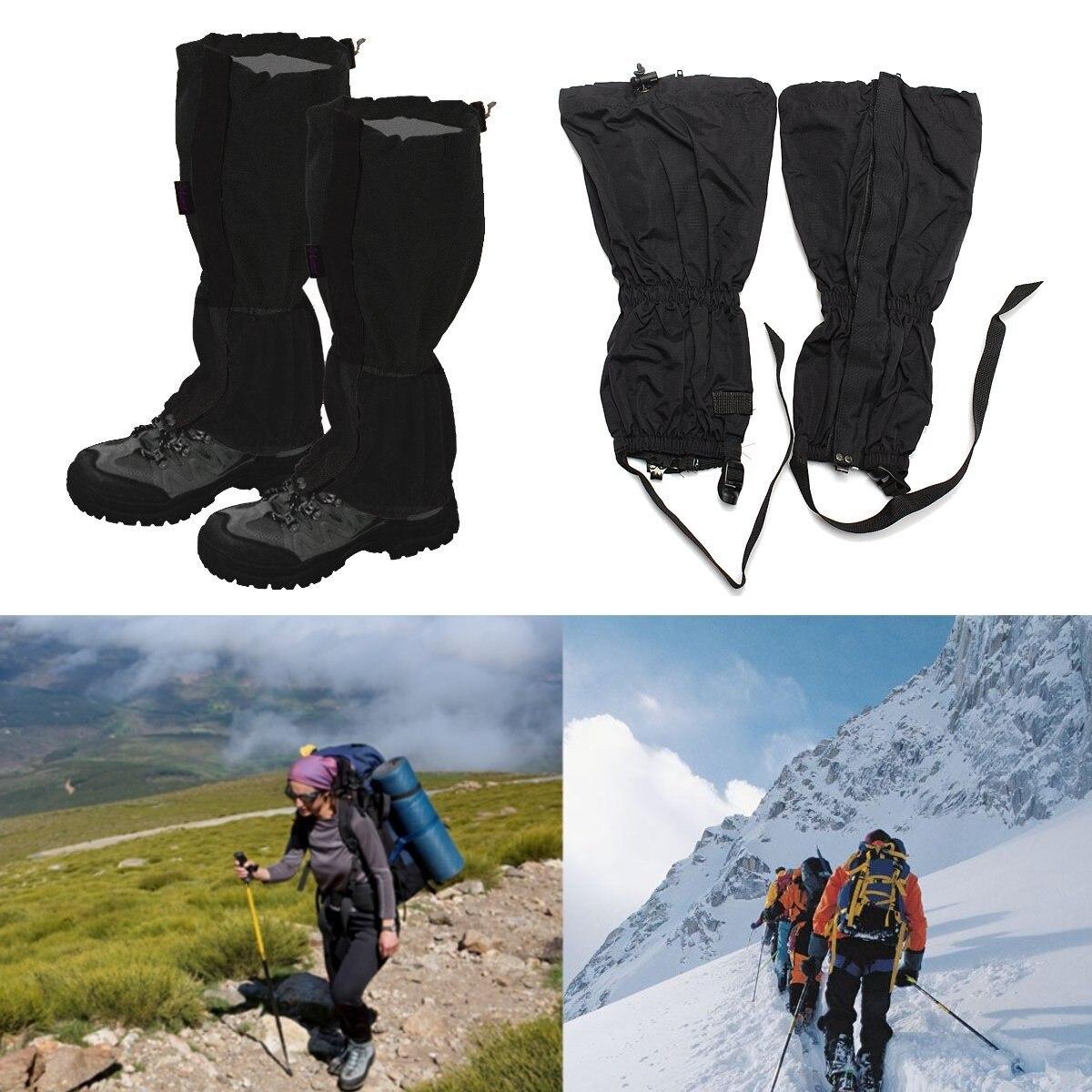 BSAID 1 Pair Snow Gaiters Waterproof Leg Covers Elastic Outdoor Women Men Shoe Boot Legging Wraps Climbing Hiking Ski Shoe Cover недорго, оригинальная цена
