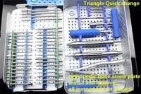 Медицинские ортопедические инструмент кости винт пластины Установить удалить все набор инструментов 48 Tool Kit скольжения сломанной extractor отв