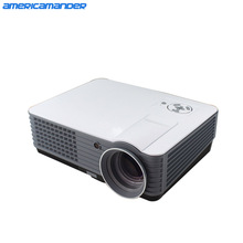 200inch Brightest 2000Lumen Full HD DLP Business Advertising Education data show 3D Projector Beamer Projektor Proyector