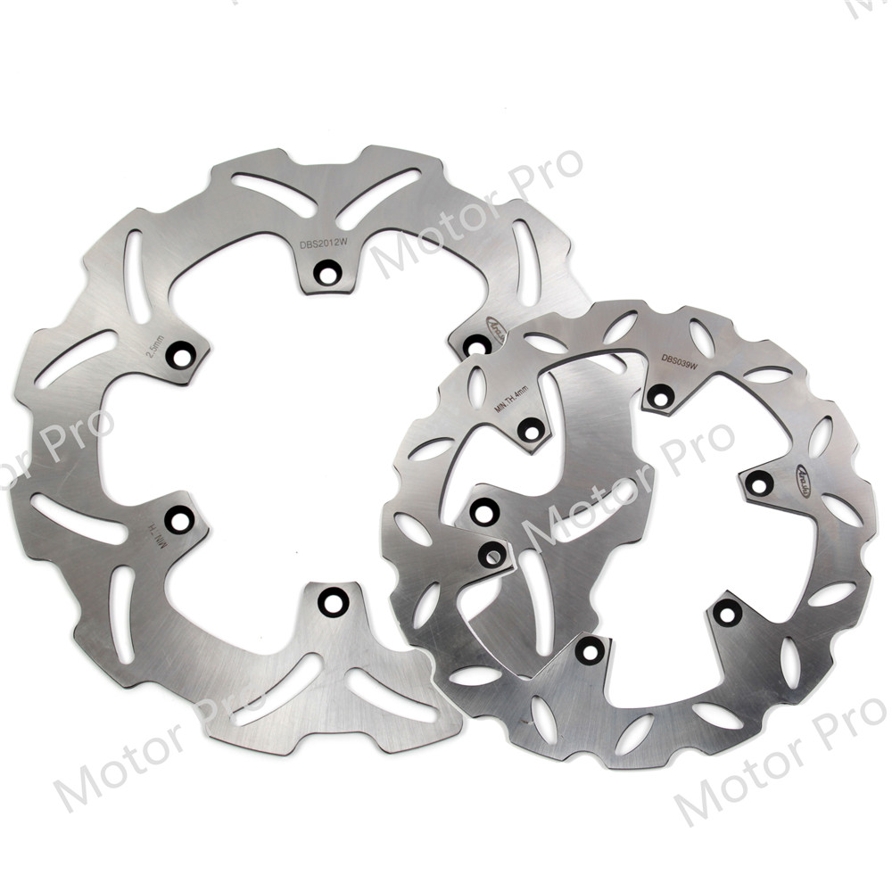 For Suzuki RM125 1999 - 2005 Front Rear Brake Disc Disk Rotor Kits Motorcycle Accessories RM 125 250 2000 2001 2002 2003 2004 250mm front brake disc brake rotor for yamaha wr 125 wr 426 450 yz 125 250 450 2001 2002 2003 2004 2005 2006