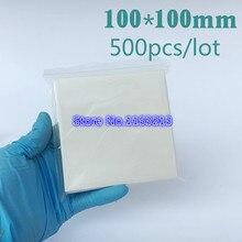 """Белая бумага для взвешивания влагостойкая сильная 100 мм x 100 мм 4x"""" лакмусовая бумага для аналитического баланса 500 шт/ПК"""