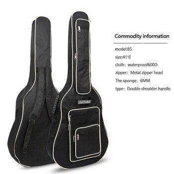 41 дюймовая гитара сумка полностью мягкий водонепроницаемый чехол для гитары чехол мягкая музыка классический акустический мешок >> Runing to World Store