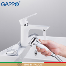 GAPPO basin faucet Bathroom Sink mixer Taps water Faucet Brass tap bathroom sink faucet Waterfall Basin Mixer tap Torneira faop basin faucets water tap sink faucet mixer white taps brass basin faucets waterfall sink tap bathroom faucet mixer