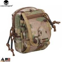 EMERSONGEAR M2 поясная сумка маленькая Легкая Сумка Molle Охотничьи аксессуары мультикам черный подсумок поясная сумка EM8339