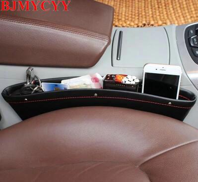 BJMYCYY Car Seat Gap Pocket Catcher Organizer Leak-Proof Storage Bags Multifunctional Seat Gap Store Content Box Drop Shipping