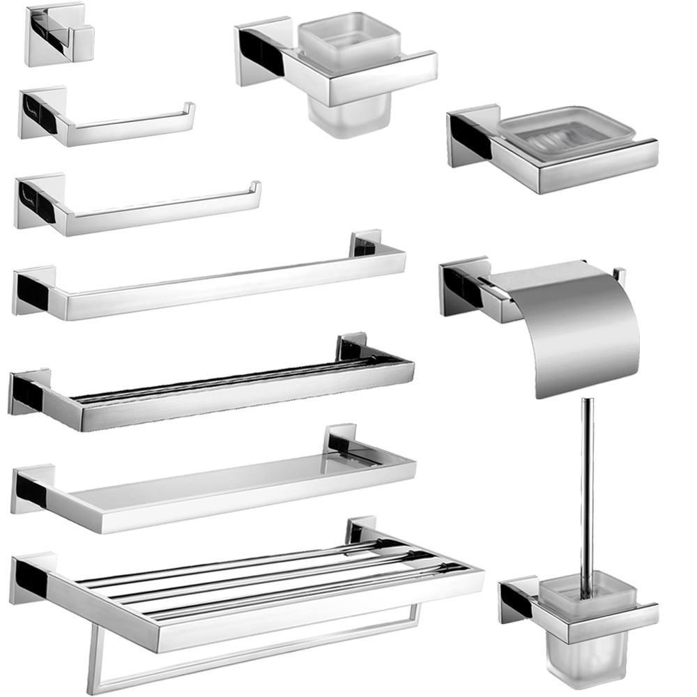 Leyden Chrome 304 Stainless Steel Bathroom Accessories Bath Hardware ...