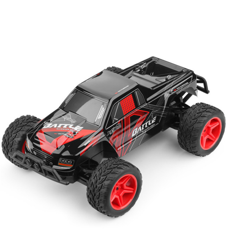Large Racing RC car 2.4GHz RC Car 2WD 1/10 35KM/H Brushed Electric Cars RTR MonsterTruck RC Car Model Remote Control Boy Toys цена