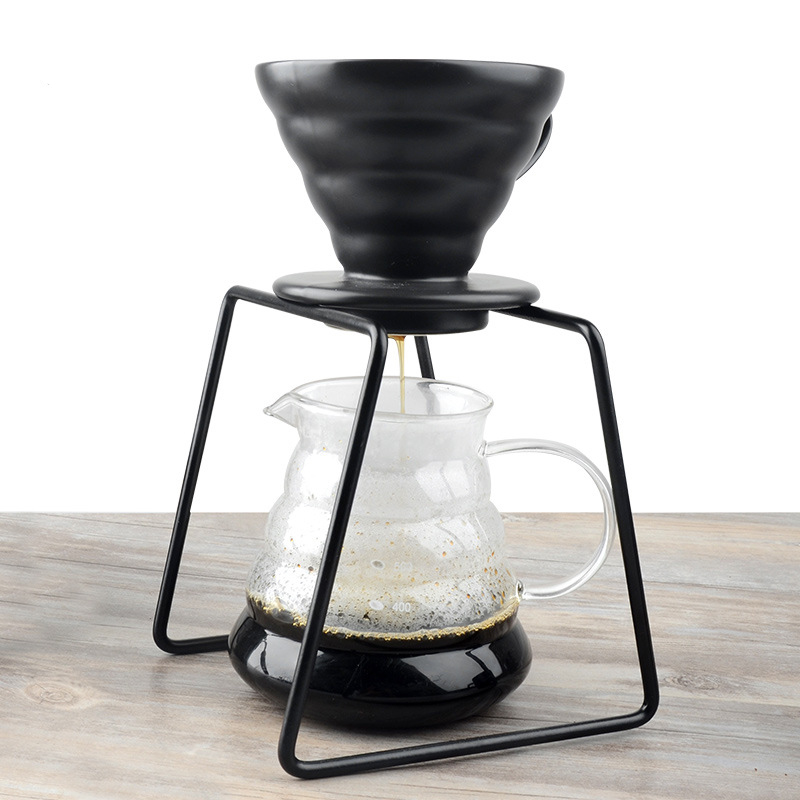 Coffee Dripper Geometric Reusable Pour Over Coffee Filter Stand,Permanent Coffee Dripper for Coffee Marker