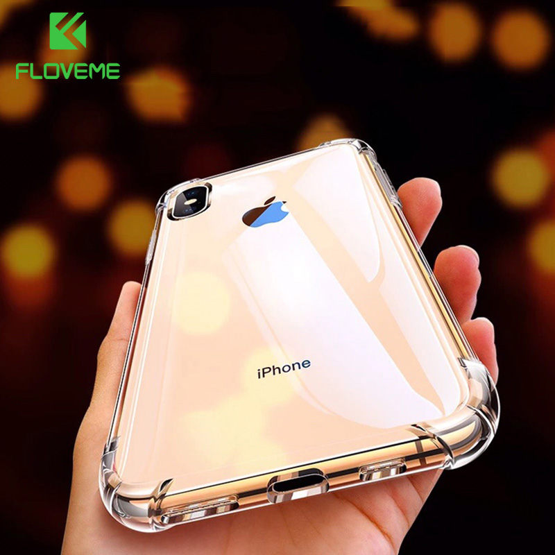FLOVEME Shockproof Phone Case For iPhone 7 8 Plus Soft Silicone Phone Case For iPhone X XS MAX XR 8 7 Cover Coque executive car