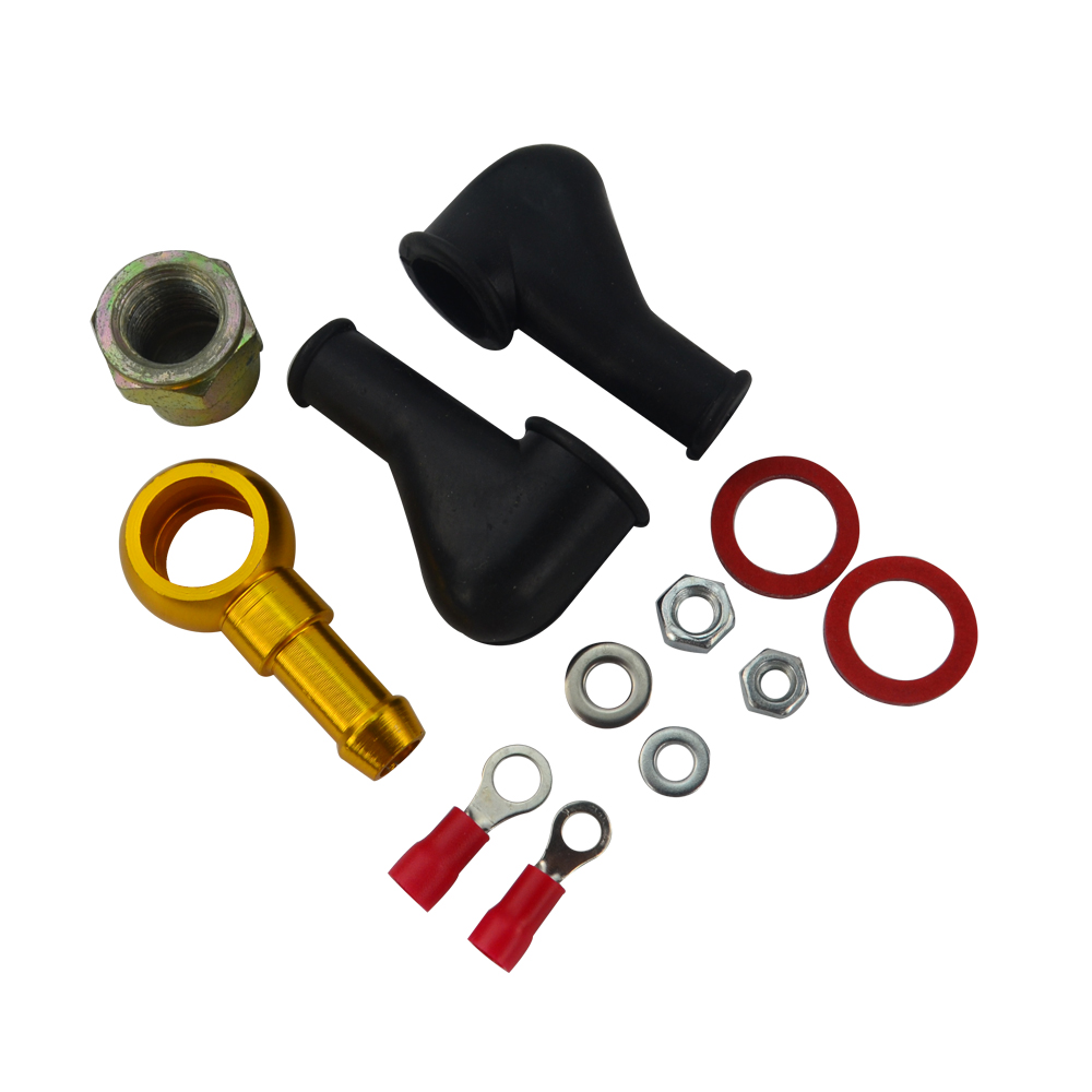 VR RACING - 044 BAHAN BAKAR BANJO FITTING KIT HOSE ADAPTER UNION 8 MM - Suku cadang mobil - Foto 6
