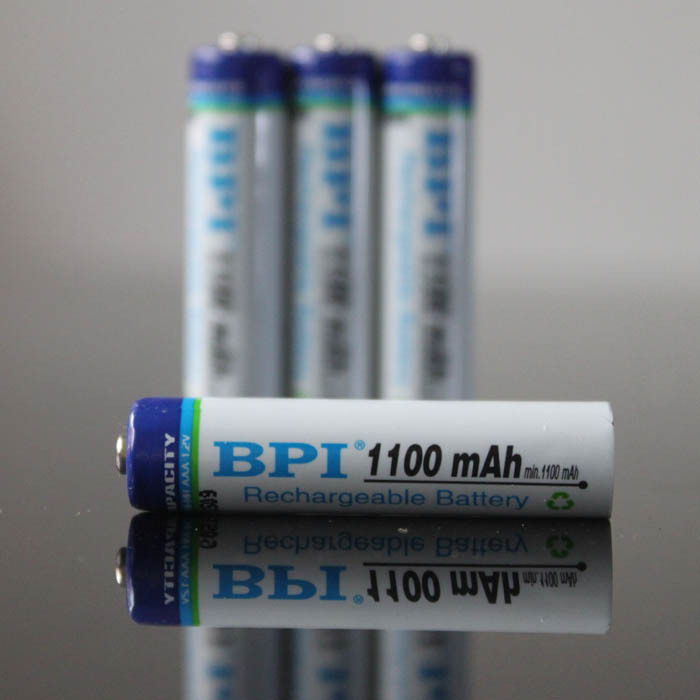 8 X BPI AAA Battery Ni-MH 1.2V 1100MAH AAA Rechargeable Battery