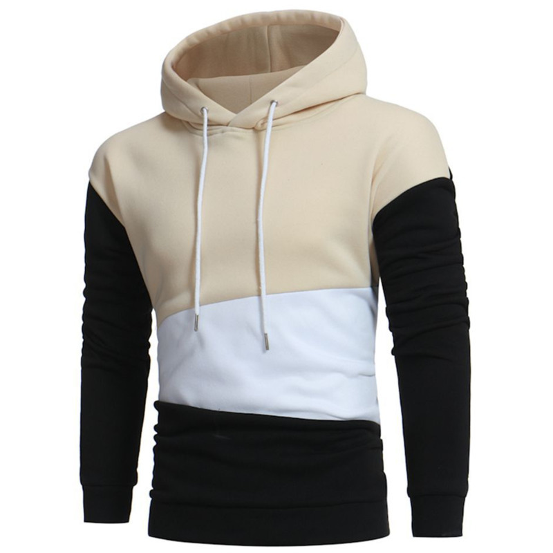 Autumn Winter pullover mens hoodie for Men long sleeve Hooded Casual Fashion Color