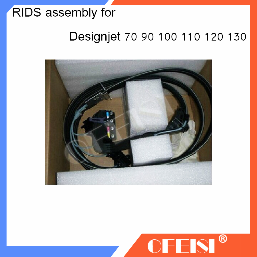 Original New C7796-60110 C7796-60219 C7796-60023 RIDS assembly Ink tube Assembly for HP Designjet 100//70/90/110/111/120/130NR carriage assembly for hp designjet 70 100 110 hp business inkjet 2600 c7796 60022 c7796 60077 plotter part used