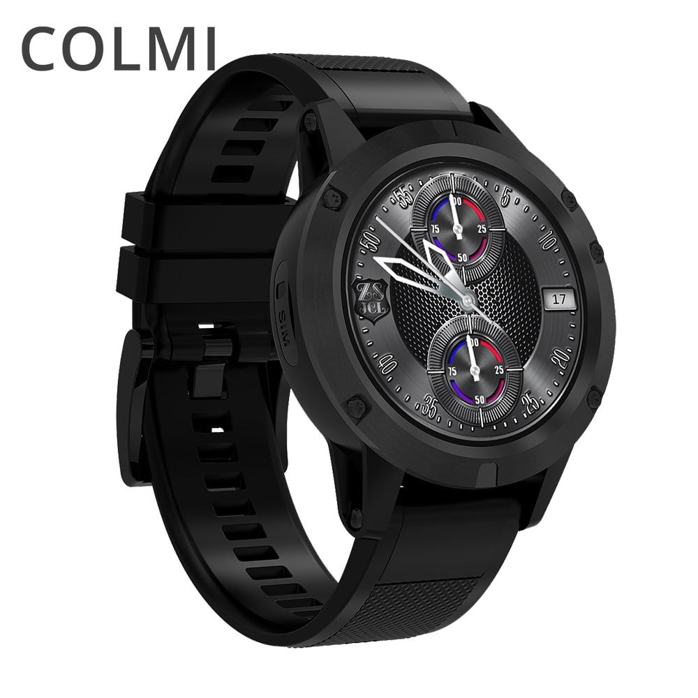 COLMI J1 insignia inteligente reloj Android 5,1 OS MTK6580 Quad Core 1 GB + 16 GB 360*360 AMOLED pantalla 480 mAh ala Smartwatch