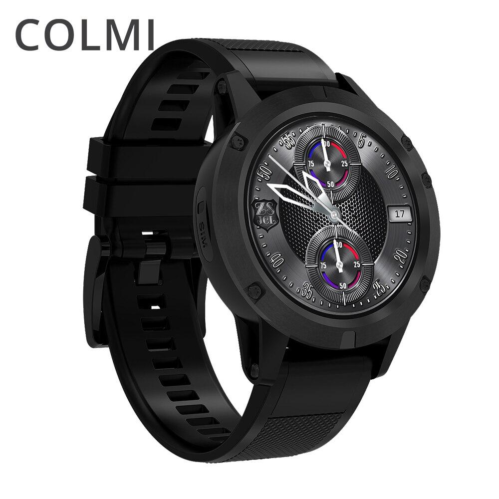 COLMI J1 Flaggschiff Smart uhr Android 5.1 OS MTK6580 Quad Core 1 gb + 16 gb 360*360 AMOLED Display 480 mah KREMPE Smartwatch