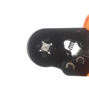 Image 5 - Обжимные плоскогубцы для проволочных наконечников, наконечники 0,25 мм2 23 10AWG электрик мини ручной круглый носовой инструмент клеммы