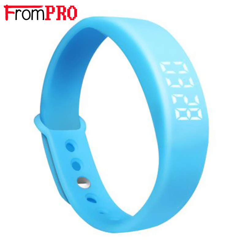 Bluetooth Bracelet W5 Smart Wrist band Sport Watch Pedometer Calory monitor 3D Pedometer Thermometer Silent Vibration