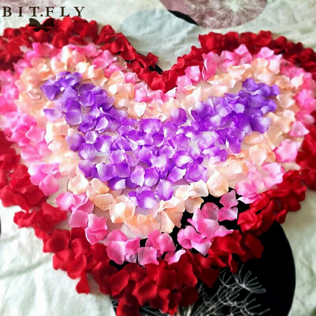 1000pcs christmas party decor artificial rose petals silk flower 1000pcs christmas party decor artificial rose petals silk flower petalas rosa wedding accessories engagement scene decor mightylinksfo Image collections