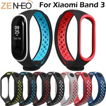 Strap For Xiaomi Mi Band 3 watchband Miband Wristband Sport Silicone Watch bracelet