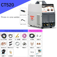CT 520 three purpose electric welding machine argon arc welding machine plasma cutting machine multi function 220V Fully
