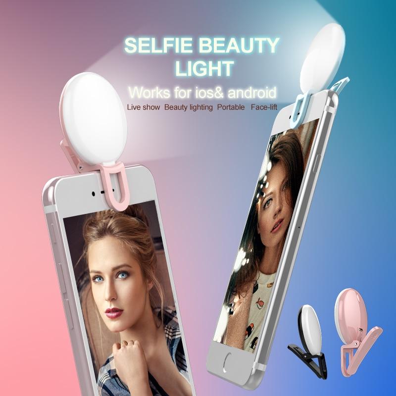 Univerzalna LED lučka Selfie RK17 LED lučka za polnjenje 9 kosov - Kamera in foto - Fotografija 5