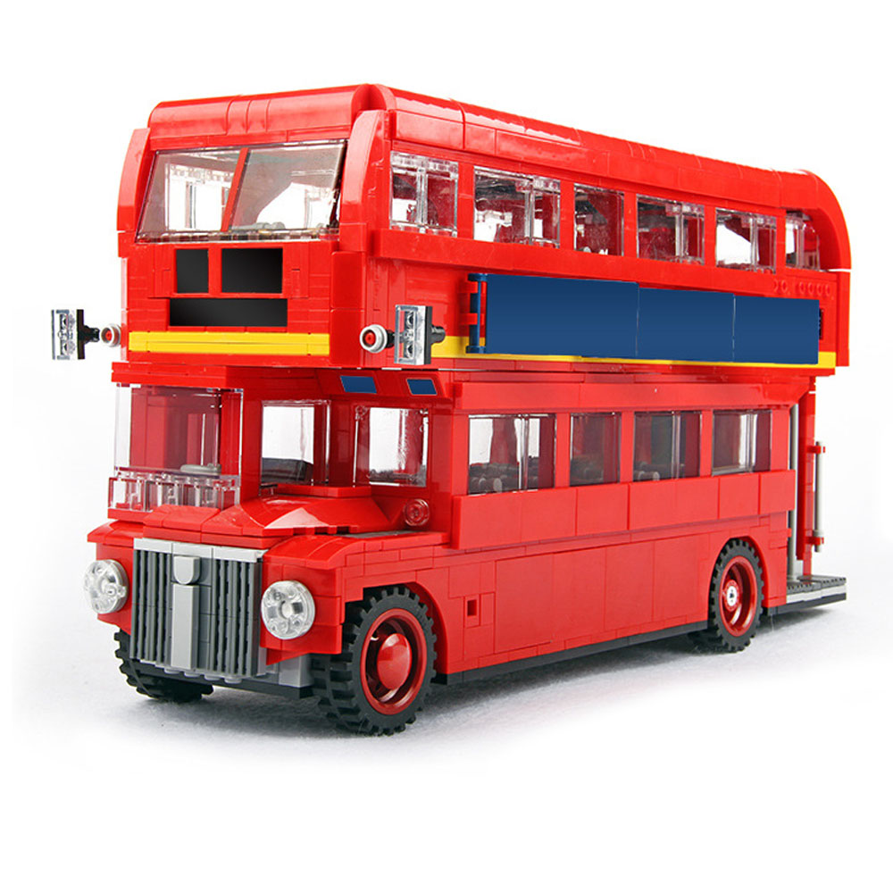 Lepin Creator Series 21045 The London Bus Set compatible legoinglys 10258 Bus Building Blocks Bricks Children Toys lepin 21045 united kingdom britain london double decker bus building kit blocks bricks toy for gift 10258