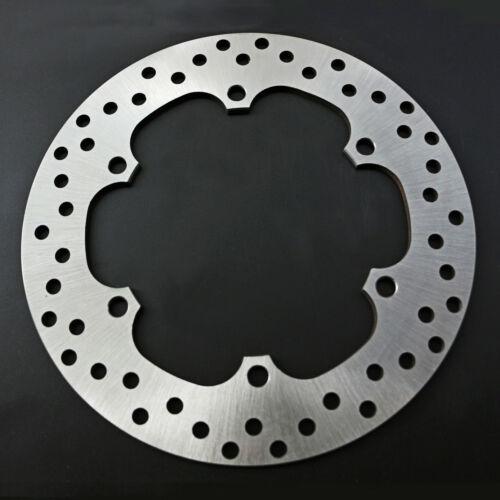 Chrome Motorcycle Front Brake Disc Rotor For Honda VFR400 VF500 FJS400 FJS600 Silverwing