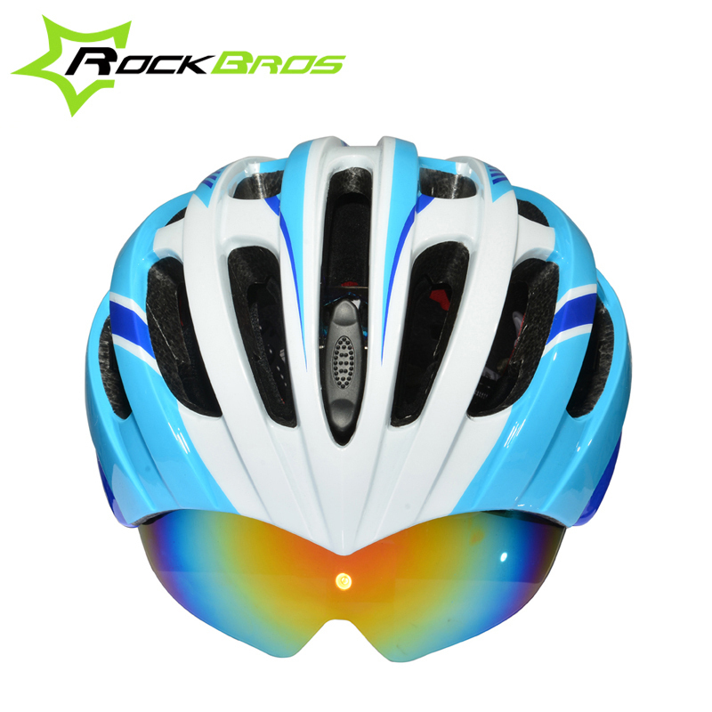 ROCKBROS Bicycle Cycling Helmet casco ciclismo Helmet MTB Road Mountain Bike Helmet 32 Air Vents With 3 Lenses 256g SIZE:57-62cm  title=