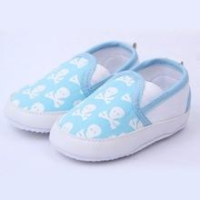 Baby Boys First Walkers Shoes Toddler Soft Sole Kids Children's infant Shoe Prewalker Skull Pattern 0-12 Months ZC2