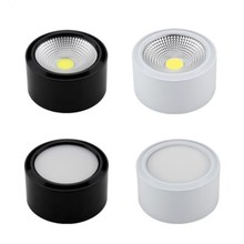 Dimmable Downlight Spot Led Panel Ceiling Lights AC110V/AC220V lighting Surface Mounted 7W 10W ceiling down lamp