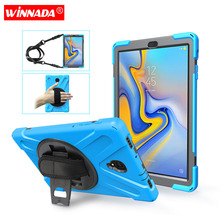 For Samsung Galaxy Tab A A2 10.5 inch 2018 SM T590 T595 T597 case Kids Safe non-toxic skin Safe Shockproof Armor hard cover safe third country vs non refoulment