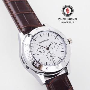 Image 5 - Aansteker Horloges mannen USB Opladen Quartz Horloge Militaire Vlamloze sigarettenaansteker outdoor mannelijke gift Horloges JH311