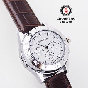 Image 5 - Zapalniczki zegarki mężczyźni USB do ładowania zegarek kwarcowy wojskowy bezpłomieniowe zapalniczki zapalniczki na zewnątrz mężczyzna prezent na rękę JH311