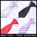 Mejor Venta Nuevo Estilo de Moda Corbatas de Seda Hombre Corbatas corbata 24 estilos Mezclan orden 10 unids/lote Al Por Mayor Envío gratuito