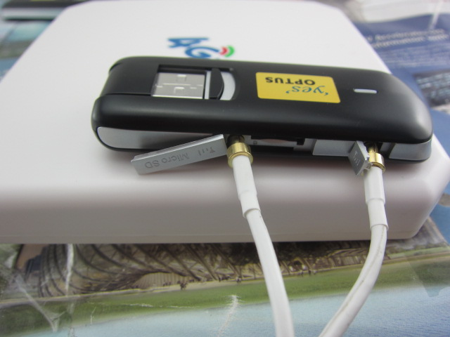 ФОТО Huawei E3276s 601 LTE FDD1800 2600Mhz TDD2300Mhz USB Modem Stick+ 4G TS9 35Dbi antenna