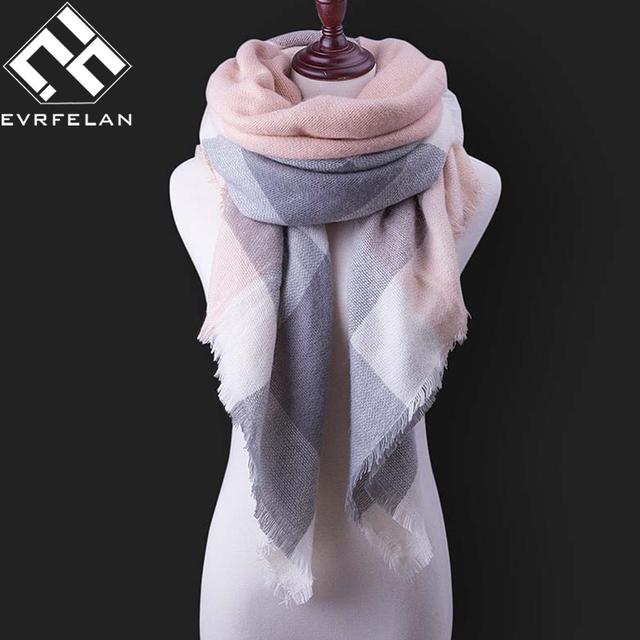 Fashion Winter Cashmere Scarf For Women