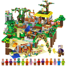 My World 8 In1 Minecrafted Manor Estate House My World model Building Blocks Bricks set Compatible Blocks Manor Boy Toy Gift 957pcs my world figures toy building blocks compatible with legoed minecrafted city diy bricks toy gift for boy girl gift new