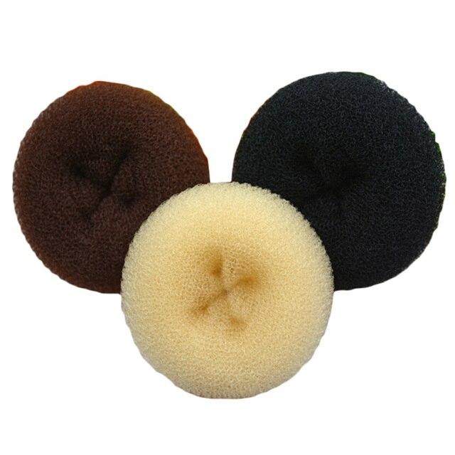 1 pc Pequeno Moda Beleza Donut Hair Styling Criador Rolo coque Cabelo Anel de Cabelo