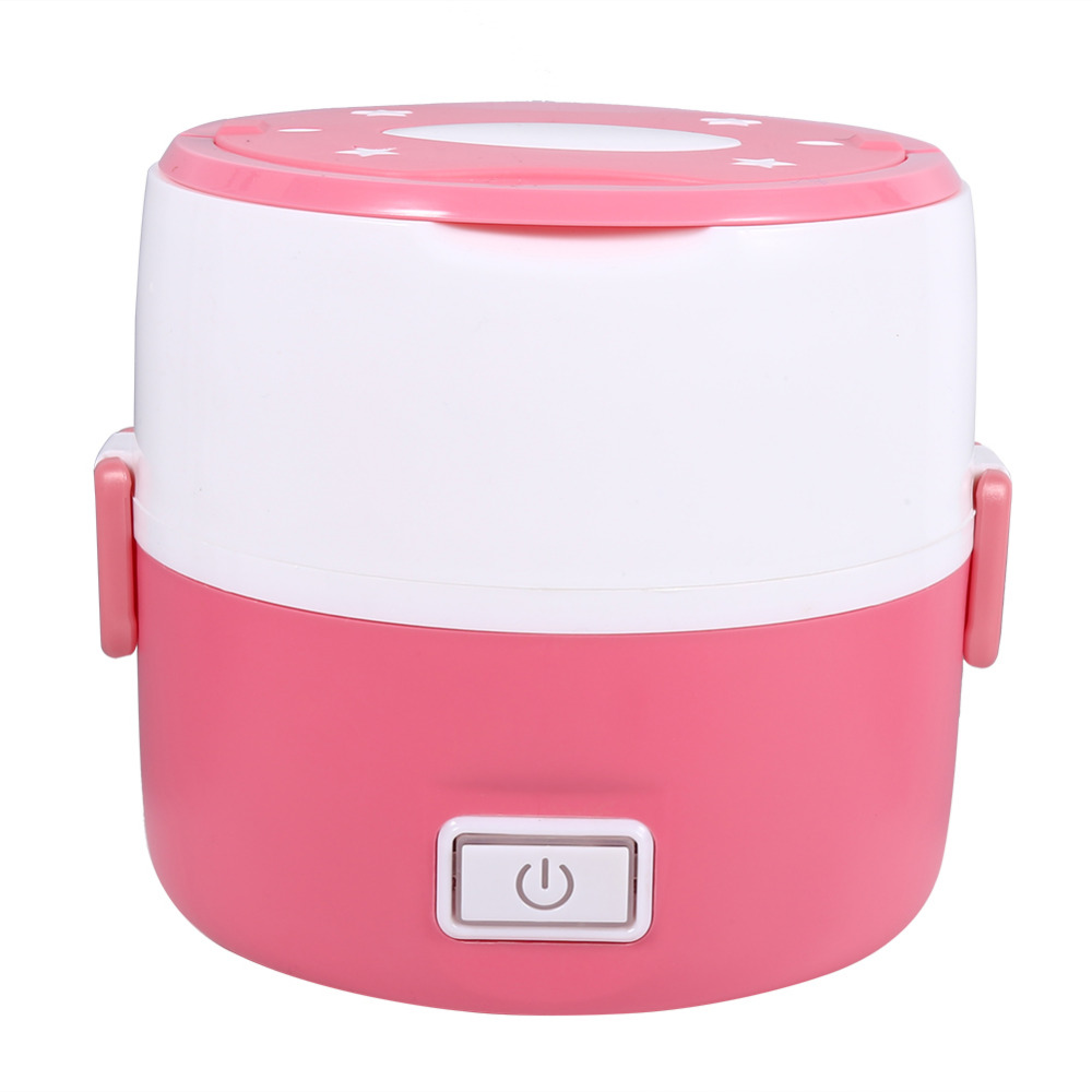 220v 3layers Mini Rice Cooker Heated Electric Lunch Box ...